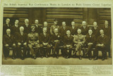 """RARE / LARGE """"THE BRITISH IMPERIAL WAR CONFERENCE 1918"""" PHOTOGRAVURE SUPPLEMENT."""