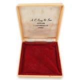 VINTAGE A. C. EASY & SON, CASTLEREAGH, SYDNEY JEWELLERY BOX.