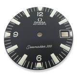 Omega Seamaster 300 Date Dial for c.565 064PP0810001- NEW OLD STOCK