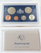 1981 RAM AUSTRALIAN PROOF 6 COIN SET + OUTER + SPECS