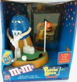 """2000 M&M """"PUTTIN BLUE"""" / ORIGINAL BOX & ONE FUN SIZE PACK."""
