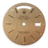 Authentic Rolex 18038 Date Date Champagne Computer Stick Dial