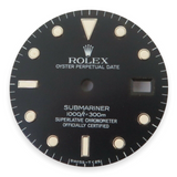 Authentic Vintage Rolex Submariner 16800 Dial Starting to go Tropical