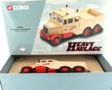 2001 CORGI HEAVY HAULAGE CC11101 SCAMMELL CONSTRUCTOR DIECAST MINT IN BOX.