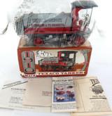 "1995 ERTL ""1910 MACK TEXACO TANKER"" DIECAST LOCKING COIN BANK + BOX + PAPERS."