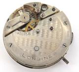 SCARCE c1885 LONGINES LEVER SET POCKET WATCH MOVEMENT & DIAL.