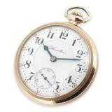 Scarce 1908 Hamilton 946 Model 1 18s 23 Ruby Jewels GF Open Faced Pocket Watch