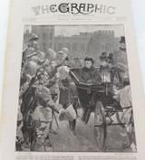 THE GRAPHIC ILLUSTRATED NEWSPAPER SATURDAY DEC 8 1900. BOXER REVOLUTION BOER WAR