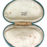 c1950s LEEDS, UK NECKLACE BOX. SHAFFNERS, JEWELLERS.
