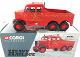 1997 CORGI HEAVY HAULAGE 17501 SIDDLE COOK SCAMMELL DIECAST + BOX.