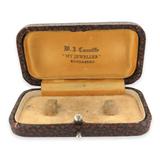 "EARLY 1900s W J CANNIFFE, BUNDABERG ""MY JEWELLER"" JEWELLERY BOX."