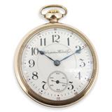 C.1909 Hampden Duber Watch Co Gold Filled 18s 21 Jewel OF Pocket Watch