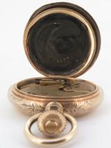 A Wonderful C.1896 Elgin 16s Full Hunter 14K Solid Gold 50.5mm Pocket Watch