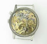 Vintage Lemania Military Single Pusher Chronograph Men's Wrist Watch