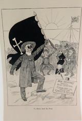 "RARE 1904 THE BULLETIN NEWSPAPER SYDNEY ""PHIL MAY IN AUSTRALIA"" LARGE CARTOON #4"