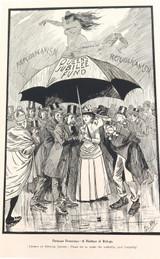 "RARE 1904 THE BULLETIN NEWSPAPER SYDNEY ""PHIL MAY IN AUSTRALIA"" LARGE CARTOON #8"
