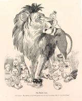 "RARE 1904 THE BULLETIN NEWSPAPER SYDNEY ""PHIL MAY IN AUSTRALIA"" LARGE CARTOON #9"