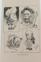"RARE 1904 THE BULLETIN NEWSPAPER SYDNEY ""PHIL MAY IN AUSTRALIA"" LARGE CARTOON 14"