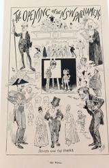 "RARE 1904 THE BULLETIN NEWSPAPER SYDNEY ""PHIL MAY IN AUSTRALIA"" LARGE CARTOON 21"