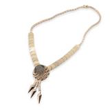 Vintage 14k Rose Gold Articulated Collar Set With Smokey Quartz 27.6g Val $7920