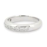 Tiffany & Co Lucida Platinum 0.65ct Radiant Diamond Ring Sz K.5 Val $1046