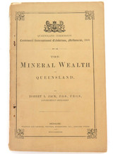 """1888 RARE BOOKLET """"THE MINERAL WEALTH OF QUEENSLAND"""" IPSWICH, STANTHORPE ETC"""