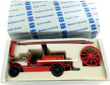 VINTAGE WEST GERMANY CONRAD LONDON FIRE BRIGADE DIECAST MODEL 1025 MIB.
