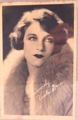 1920s USA MOVIE STUDIO LARGISH PROMOTIONAL CARD. SILENT MOVIE STAR VIOLA DANA.