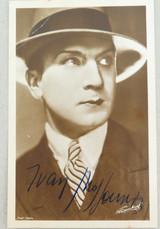 1920s MOVIE STUDIO PROMOTIONAL PHOTOGRAPH CARD SILENT MOVIE STAR IVAN PETROVICH