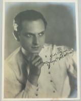 1920s MOVIE STAR LARGE PHOTOGRAPH. ACADEMY AWARD WINNER JOSEPH SCHILDKRAUT. #1