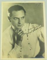 1920s MOVIE STAR LARGE PHOTOGRAPH. ACADEMY AWARD WINNER JOSEPH SCHILDKRAUT. #2