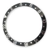 Vintage Genuine Rolex GMT Black Bezel Insert - 16700 16710