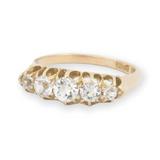 Australian S.Ltd Handmade Antique 18ct Gold White Sapphire Ring Size M Val$1800