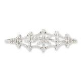 4.75ct Diamond Set 18ct White Gold Statement Bracelet 18cm Long Val $13890