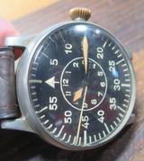 1943 A. Lange & Söhne B-Uhr world war II Luftwaffe pilot / aviator watch FL23883