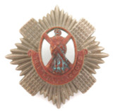 VINTAGE BRITISH MILITARY BADGE THE ROYAL SCOTS.