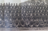 "1942 WW2 HUGE PANORAMIC PHOTO US ARMY ""G COMPANY 54TH QUARTERMASTER REGIMENT"""