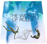 "EXCELLENT CONDITION 1995 ROLEX ""THE WORLD OF ROLEX"" LARGE BOOKLET."