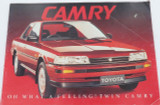 """VINTAGE CAMRY """"OH WHAT A FEELING"""" LARGE SALES BOOKLET. V6, CS, ULTIMA, EXECUTIVE"""