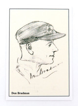 SCARCE DON BRADMAN CARD. T F SPORTING COLLECTABLES, UK