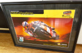 SUPERB LARGE FRAMED MICK DOOHAN REPSOL-HONDA SIGNED DISPLAY. READY TO HANG !!!!
