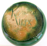 c1930s RARE REMUED EARLY SERIES 119X DRIP GLAZE CREAMER / JUG.