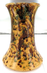 1880s / 1890s INCREDIBLY RARE RICHARD ROGERS, IPSWICH, QLD LARGE POTTERY VASE.