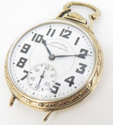 1942 Hamilton 992B 16s 21 Jewel Gold Filled Open Faced Pocket / Wrist Watch