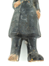 1800s LONDON BOBBY PLASTER ENCASED TOY FIGURE / ORNAMENT