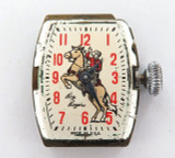 "1953 ""ROY ROGERS"" MODEL L E. INGRAHAM NOVELTY WATCH."