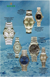 1987 ROLEX OYSTER PERPETUAL AIR KING/ DATEJUST/ LADIES + OYSTERQUARTZ BROCHURE