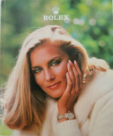 ROLEX RARE USA 1981 GLOSS COLOUR MENS & LADIES WATCH CATALOGUE CATALOG