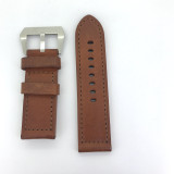BRAND NEW HEAVY DUTY TAN BROWN GENUINE LEATHER 26MM BAND
