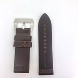 BRAND NEW HEAVY DUTY DARK BROWN GENUINE LEATHER 26MM BAND